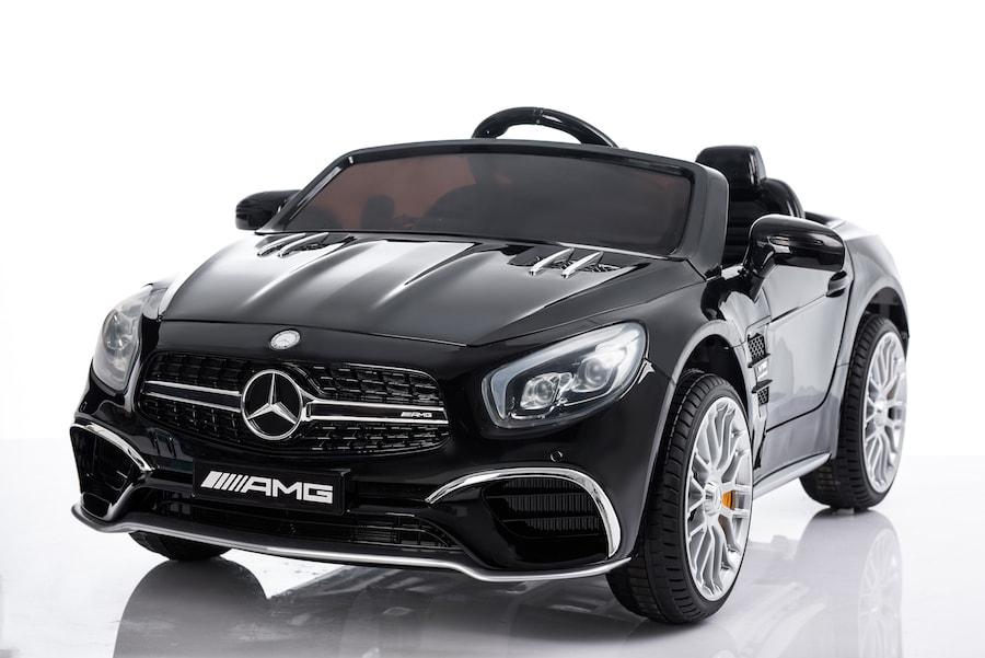 Black Mercedes SL65 Ride-on Car